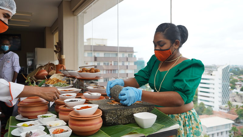 Mandarina Colombo launched 'NELUM KOLE'; a dazzling new menu with authentic  Sri Lankan flare