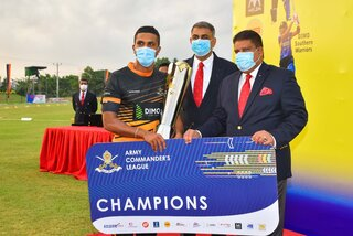 DIMO Southern Warriors clinch inaugural Army Commander's T20 league 2020 Trophy