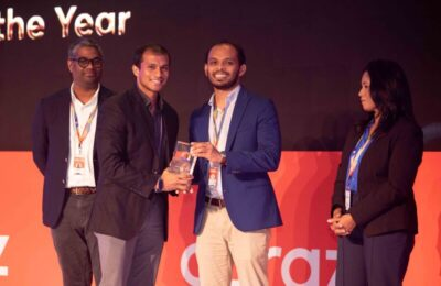 ABS Courier awarded '3PL of the year 2020' at Daraz Seller Summit
