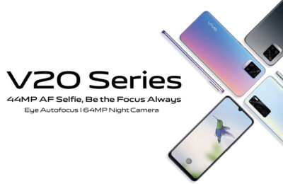 vivo V20 series lets you #bethefocusalways