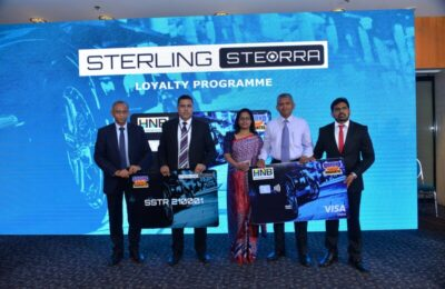 Sterling Automobiles launches Steorra loyalty programme in partnership with HNB