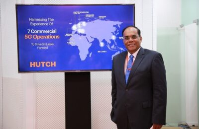 HUTCH demonstrates fastest 5G experience in  Sri Lanka