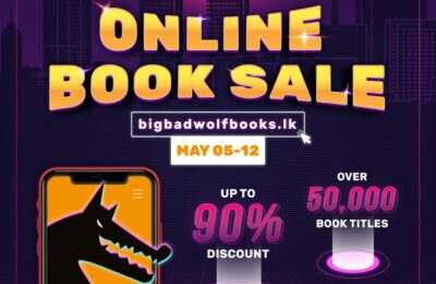 THE MOST AWAITED ONLINE BOOK SALE, THE BIG BAD WOLF BOOKS RETURNS WITH 50,000 TITLES!
