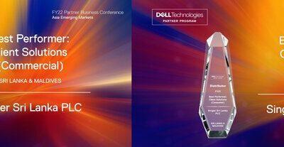 Dell Partner Business Conference හීදී සිංගර් හට සුවිශේෂී සම්මාන ද්විත්වයක්