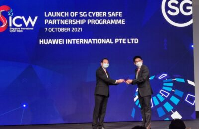 Huawei partners with CSA to fortify cyberspace and promote cybersecurity awareness among local enterprises